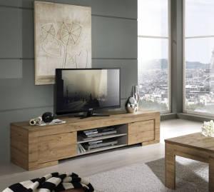 TV Schrank Milano Eiche Cleaf Honig Nachbildung
