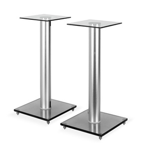 Auna BS58 Design Boxen Lautsprecher Ständer Stativ Glas Aluminium